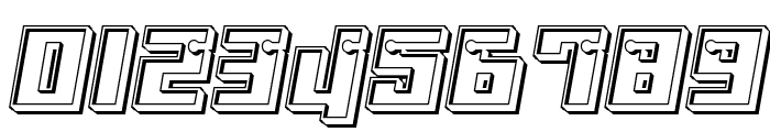 Dangerbot Engraved Font OTHER CHARS