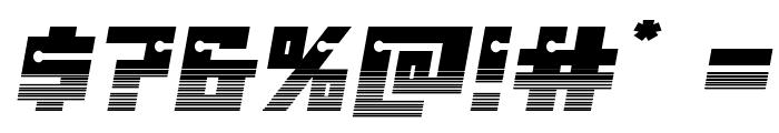 Dangerbot Halftone Font OTHER CHARS