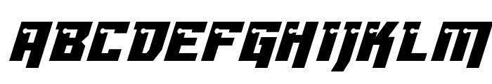 Dangerbot Italic Italic Font UPPERCASE