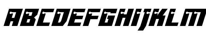 Dangerbot Italic Italic Font LOWERCASE