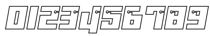 Dangerbot Outline Outline Font OTHER CHARS