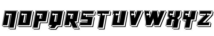Dangerbot Punch Font UPPERCASE