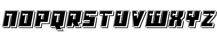 Dangerbot Punch Font LOWERCASE