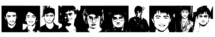 Daniel Radcliffe Font OTHER CHARS