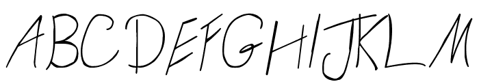 Daniel Sans Font UPPERCASE