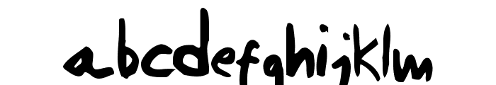 Daniel Werneck's Handwriting Font LOWERCASE