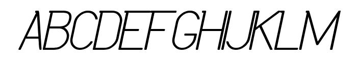 Daniela Italic Bold Font UPPERCASE