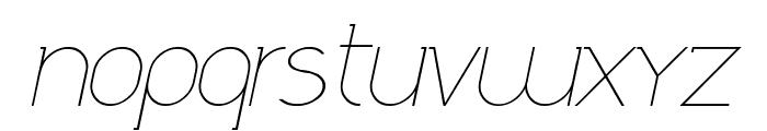 Daniela Italic Font LOWERCASE