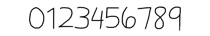 Daniel's Handwriting Font OTHER CHARS