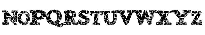 DanishCrack Font UPPERCASE