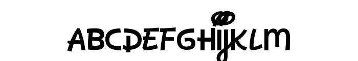 Dan's Disney Font LOWERCASE