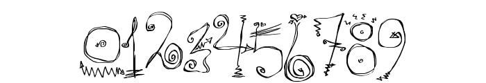 Danzin Regular Font OTHER CHARS