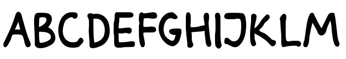 Darbog Bold Font UPPERCASE