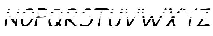Darbog gradient Italic Font UPPERCASE