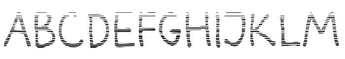 Darbog gradient Font UPPERCASE