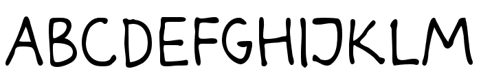 Darbog Font LOWERCASE