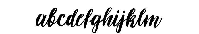 Darflow Font LOWERCASE