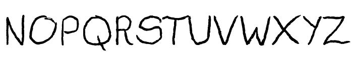 Darius Gardner Font UPPERCASE