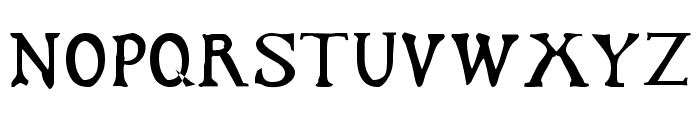 Dark Ages Regular Font UPPERCASE