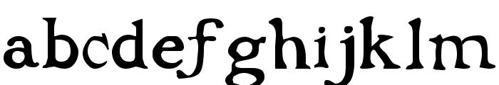 Dark Ages Regular Font LOWERCASE