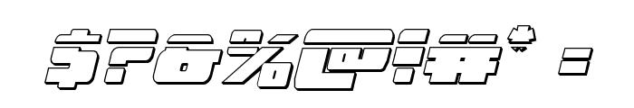 Dark Alliance Bullet Italic Font OTHER CHARS