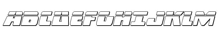 Dark Alliance Bullet Italic Font UPPERCASE