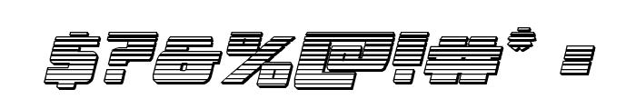 Dark Alliance Chrome Italic Font OTHER CHARS