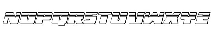 Dark Alliance Platinum Italic Font LOWERCASE