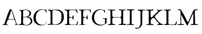 Dark & Black Font UPPERCASE