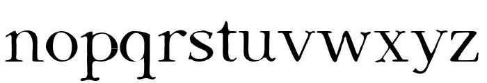 Dark & Black Font LOWERCASE