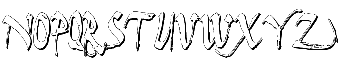 Dark Horse Shadow Font UPPERCASE