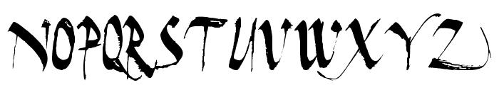 Dark Horse Font LOWERCASE
