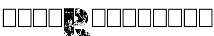 Dark Net Warrior Font LOWERCASE