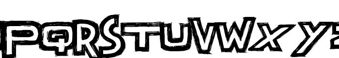 Dark Times Font UPPERCASE