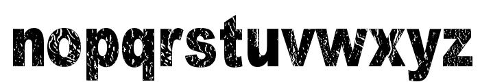 Dark Underground Font LOWERCASE