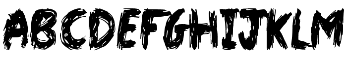 Dark World Font UPPERCASE