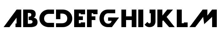 DarkMoonBold Font LOWERCASE