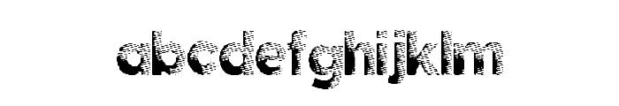 DarkPapers Font LOWERCASE