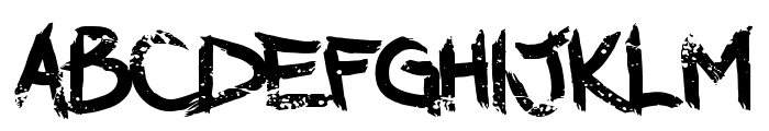 DarkWaters-Regular Font LOWERCASE