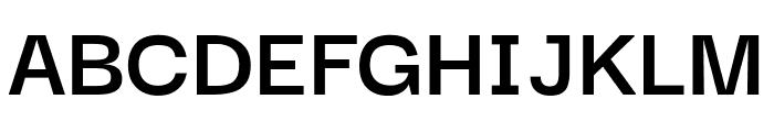 Darker Grotesque Bold Font UPPERCASE