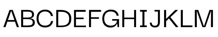 Darker Grotesque Medium Font UPPERCASE