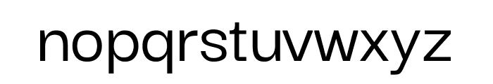 Darker Grotesque Medium Font LOWERCASE