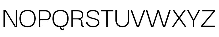 Darker Grotesque Regular Font UPPERCASE
