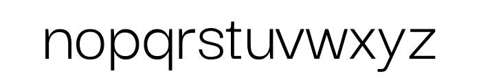 Darker Grotesque Regular Font LOWERCASE