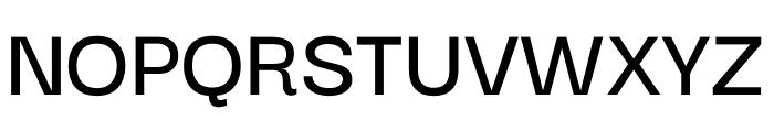 Darker Grotesque SemiBold Font UPPERCASE