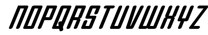 Darklighter Super-Italic Font UPPERCASE