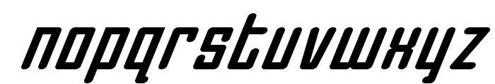 Darklighter Super-Italic Font LOWERCASE