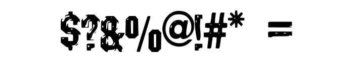 Darks_CF_Machine Font OTHER CHARS