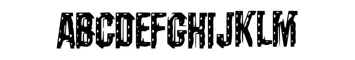 Darks_CF_Machine Font UPPERCASE