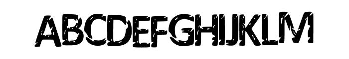 Darks_Calibri_Remix Font UPPERCASE